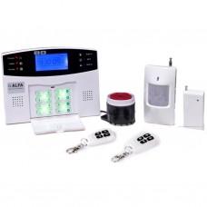 Комплект охранной сигнализации ALFA Vip 606C