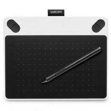 Графический планшет Wacom Intuos Draw White Pen S (CTL-490DW-N)
