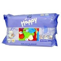 Влажные салфетки Bella Baby Happy с витамином Е для ухода за кожей младенцев 64 шт (5900516421120)