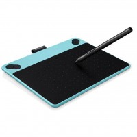 Графический планшет Wacom Intuos Draw Blue Pen S (CTL-490DB-N)