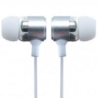 Наушники Gelius GK-100 with mic Silver/White (37497)