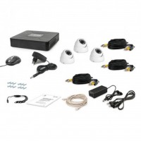 Комплект видеонаблюдения Tecsar AHD 3OUT-DOME (6640)