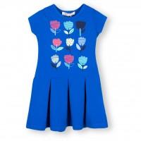 Платье SOOBE с тюльпанами (15YKCELB927-74G-blue)