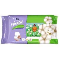 Влажные салфетки Bella Baby Happy Silk & Cotton 64 шт (5900516421144)