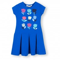 Платье SOOBE с тюльпанами (15YKCELB927-80G-blue)