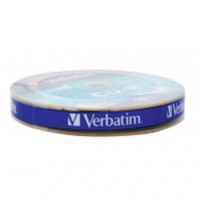 Диск CD-R Verbatim 700Mb 52x Spindle Wrap box Extra (43725)