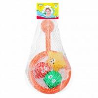 Развивающая игрушка BeBeLino Сачок с брызгалками Зверьки-ныряльщики (57118)