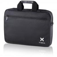 "Сумка для ноутбука Vinga 15.6"" NB110BK black (NB110BK)"