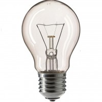 Лампочка PHILIPS E27 75W 230V A55 CL 1CT/12X10F Stan (926000004004)