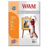 Бумага WWM A3 Fine Art (GC200.A3.20)