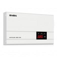 Стабилизатор SVEN AVR SLIM-500 LCD (00380035)