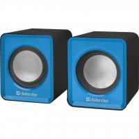 Акустическая система Defender SPK 22 2х2,5W USB blue (65501)
