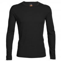 Футболка Icebreaker BF 200 Oasis LS Crewe MEN black XL (100 476 001 XL)