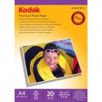 Бумага Kodak A4 Premium Photo Paper - Super Gloss 240gsm 20л (5740-093)