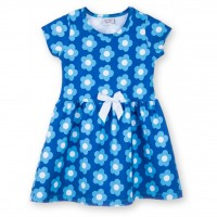 Платье Breeze в голубые цветы (8899-104G-blue)