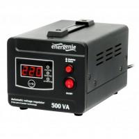 Стабилизатор EnerGenie EG-AVR-D500-01, 300Вт (EG-AVR-D500-01)