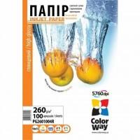 Бумага ColorWay 10x15 (ПГ260-100) (PG2601004R)