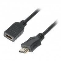 Кабель мультимедийный HDMI male to female 1.8m Cablexpert (CC-HDMI4X-6)