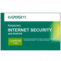 Программная продукция Kaspersky Internet Security for Android 1-PDA 1 year Base Card (KL1091OOAFS16)