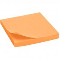Бумага для заметок Axent with adhesive layer 75x75мм,80sheets,neon orange (2414-15-А)