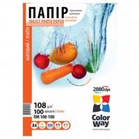 Бумага ColorWay A4 (ПМ108-100) (PM108100A4)