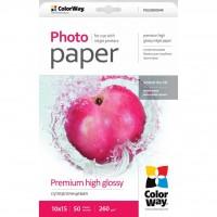 Бумага ColorWay 10x15 (ПГС260-50) (PSG2600504R)