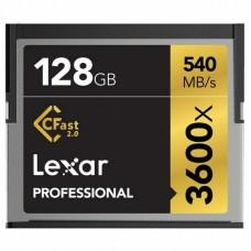 Карта памяти Lexar 128Gb Compact Flash 3600x Professional (LC128CRBEU3600)