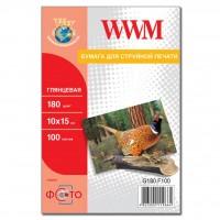 Бумага WWM 10x15 (G180.F100)