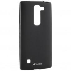 Чехол для моб. телефона Melkco для LG Spirit Poly Jacket TPU Black (6221226)