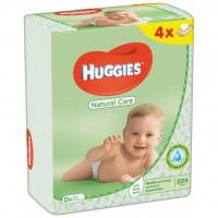 Влажные салфетки Huggies Natural Care 56 х 4 шт (5029053550183)