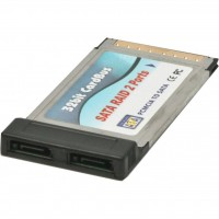Контроллер PCMCIA to 2xeSATA MAXXTRO (NPES-2)