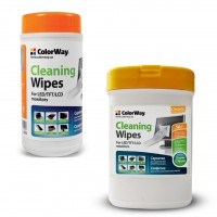 Салфетки ColorWay для LCD/TFT tub-100pcs +50pcs (CW-1071/1075)