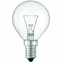 Лампочка PHILIPS E14 40W 230V P45 CL 1CT/10X10F Stan (926000006511)