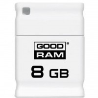USB флеш накопитель GOODRAM 8GB PICCOLO WHITE USB 2.0 (UPI2-0080W0R11)