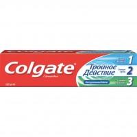 Зубная паста Colgate против кариеса Тройное действие 100 мл (7891024128992)