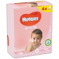 Влажные салфетки Huggies Soft Skin 56 х 4 шт (5029053550220)