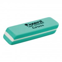 Ластик Axent soft Gross, green (display 20шт) (1188-А)