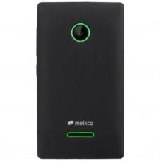 Чехол для моб. телефона Melkco для Microsoft Lumia 435 Poly Jacket TPU Black (6236772)