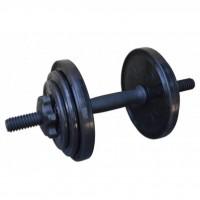 Гантель InterAtletika разборная черная 8,82 кг (СТ 530.10)