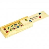 Развивающая игрушка Мир деревянных игрушек Домино Природа (Д090)