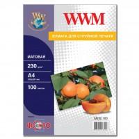 Бумага WWM A4 (M230.100)