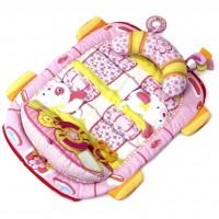 Детский коврик Kids II розовый (8819)