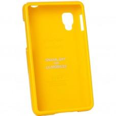 Чехол для моб. телефона VOIA для LG E440 Optimus L4II /Jelly/Yellow (6068182)