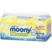 Влажные салфетки Moony антибактериальные 2 х 45 шт (4903111248421)