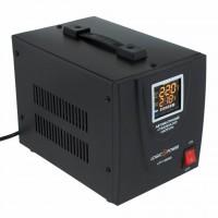 Стабилизатор LogicPower LPT-1500RD Black (4437)