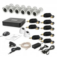 Комплект видеонаблюдения Tecsar AHD 8OUT MIX2 (6651)