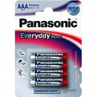 Батарейка PANASONIC LR03 PANASONIC Everyday Power * 4 (LR03REE/4BR)