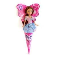 Кукла Funville Очаровательная принцесса, брюнетка в розово-голубом платье (FV250051-3)