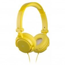 Наушники KitSound KS iD On-Ear Headphones with In-Line Mic Yellow (KSIDYL)
