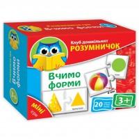 Настольная игра Vladi Toys Учим формы (укр.язык) (VT1309-05)